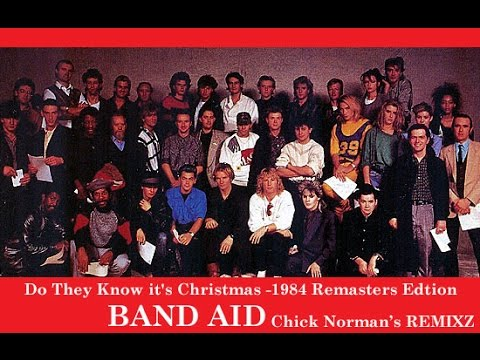 """Do They Know It's Christmas?"" by Band Aid – Raising Money for Ethiopian Famine"