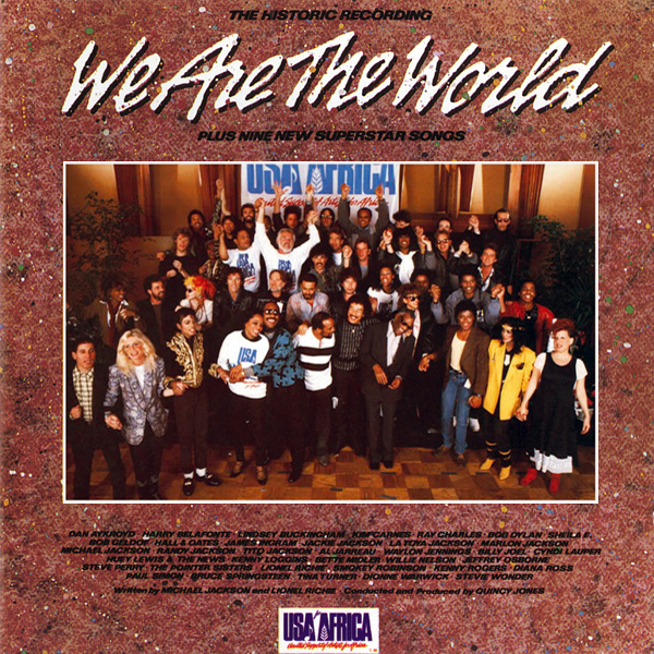 """We Are the World"" by USA for Africa: Raising Funds for African Famine Relief"